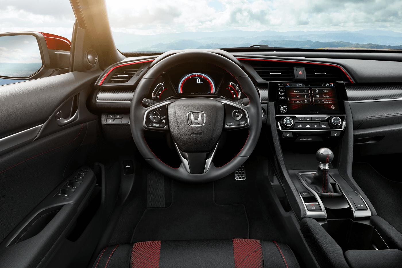 Honda Civic Si Interior Technology