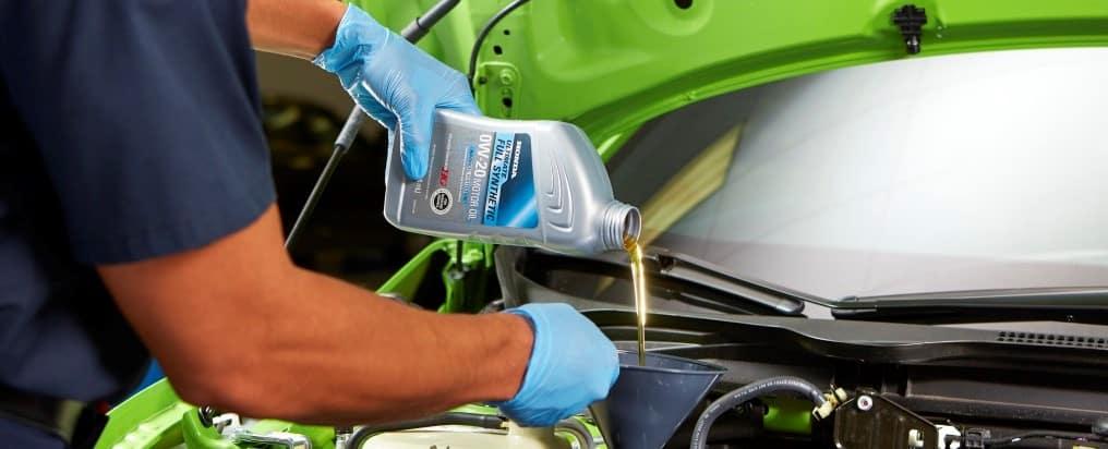 Honda Oil Change Vista CA