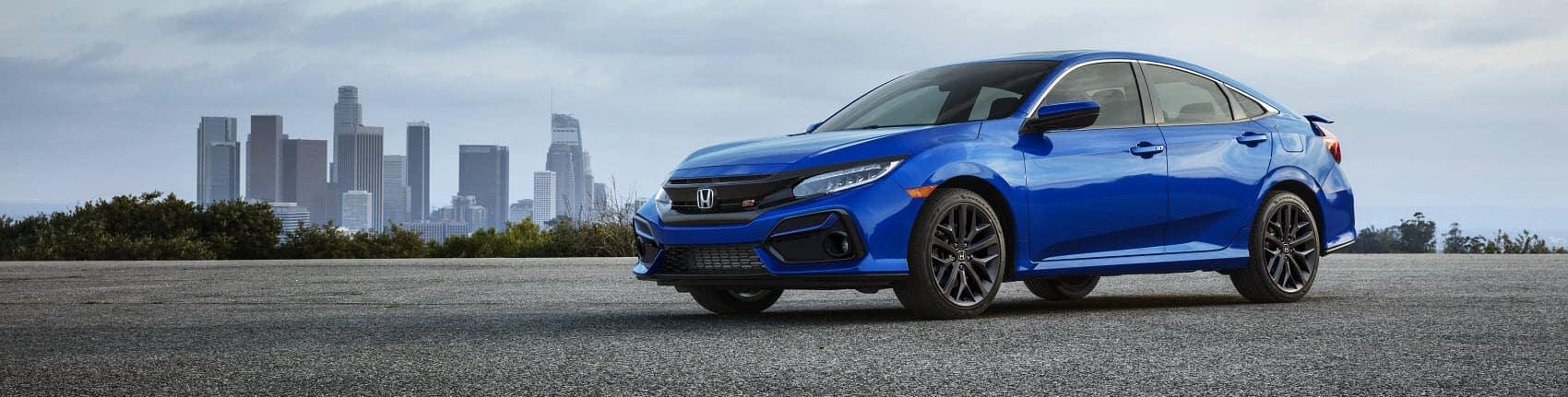 2020 Honda Civic Blue