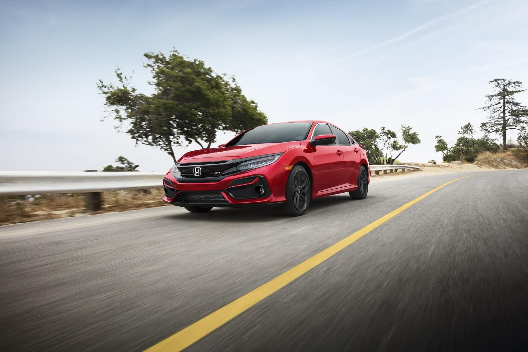 2020 Honda Civic Red