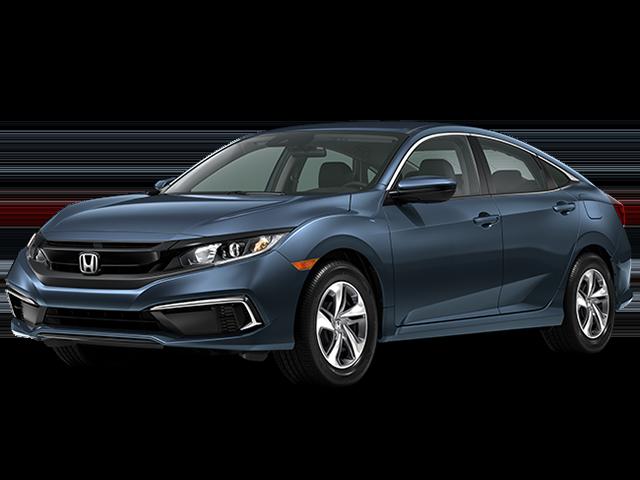 New 2020 Honda Civic Sedan LX Auto FWD