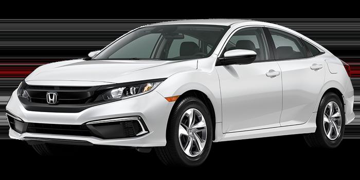 New 2021 Honda Civic Sedan LX Auto FWD