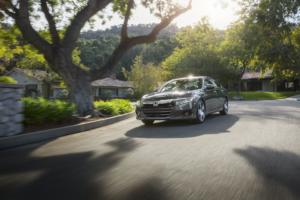 Honda Accord Road Driving