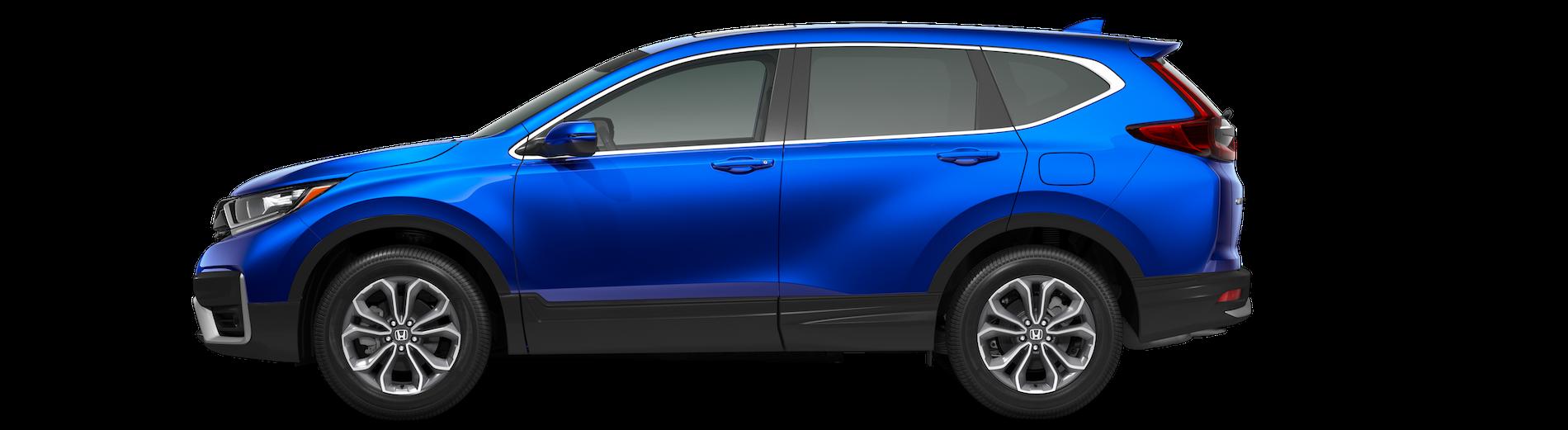 Honda CR-V Blue Side View