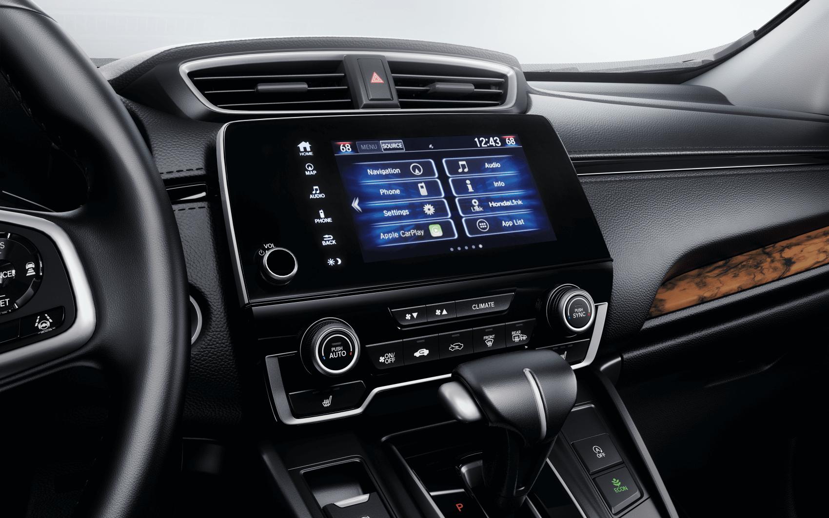 Honda CR-V Interior Dashboard Tech
