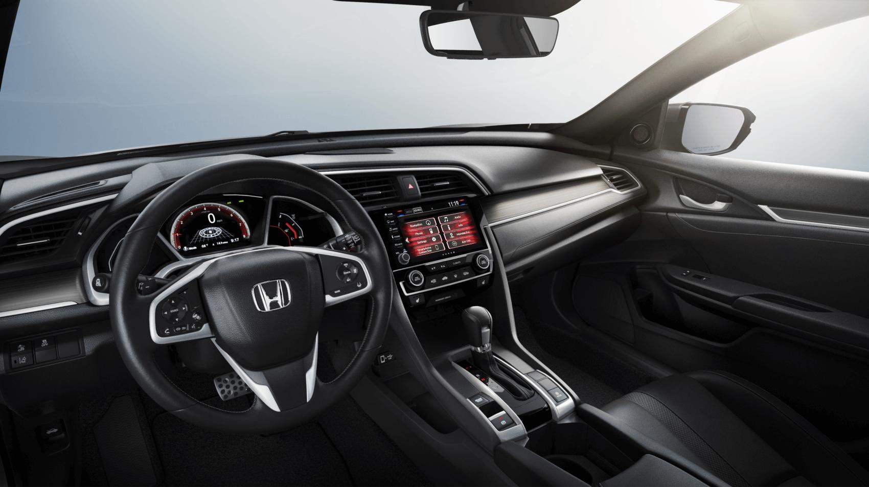 Honda Civic Interior Dashboard Tech