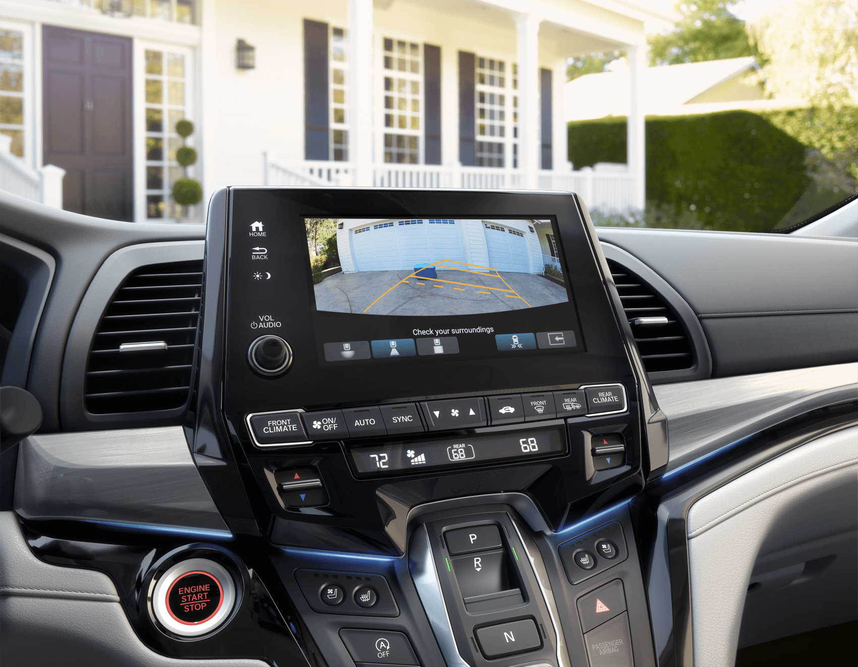 2021 Honda Odyssey Interior Safety Tech