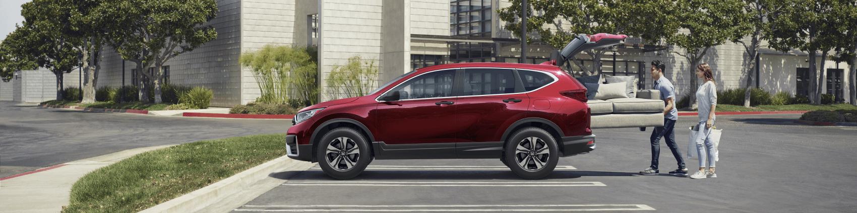 2021 Honda CR-V Red