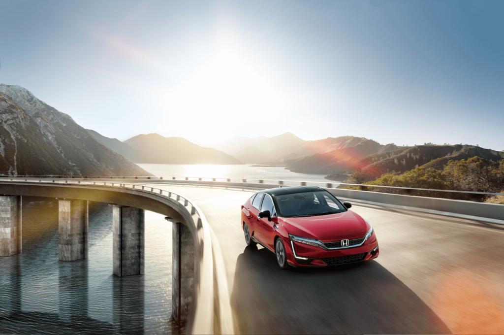 Honda Clarity Driving