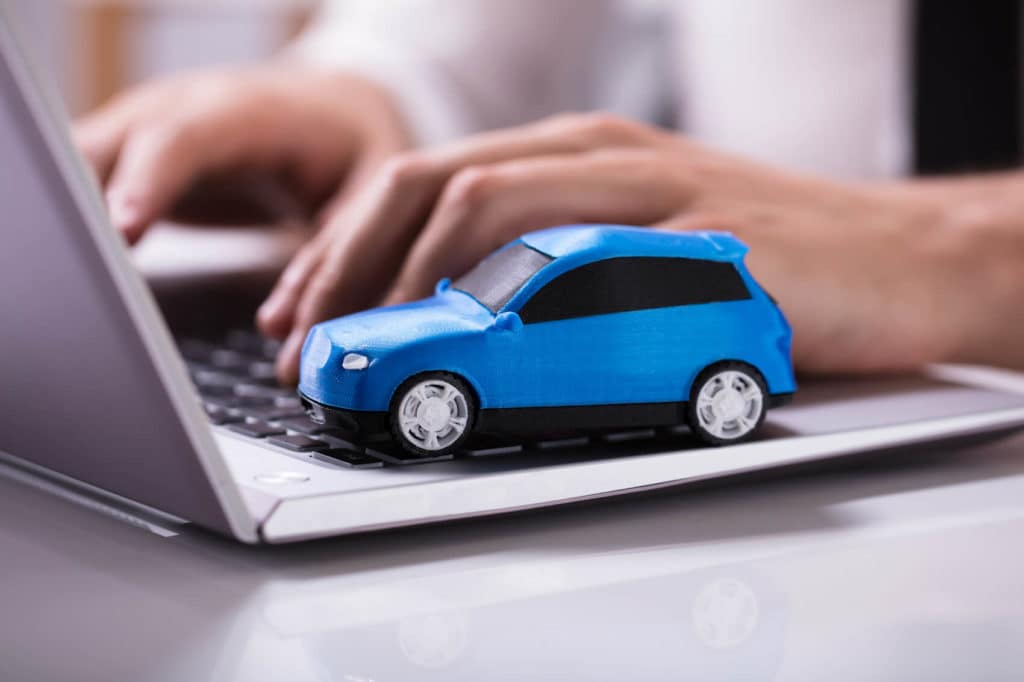 Researching Car Online