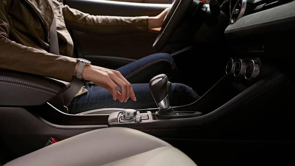 2019 Mazda CX-3 console shifter