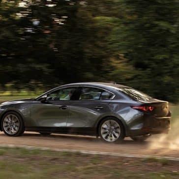 2020 Mazda3 Sedan Driving