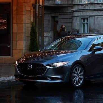 2020 Mazda3 Sedan Parked