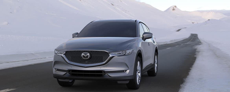 2020 Mazda CX-5 on winter road