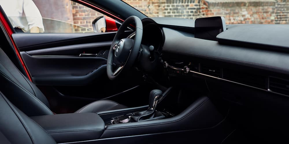 2020 Mazda3 Hatchback Front Interior