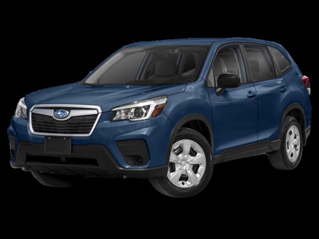 Blue 2020 Subaru Forester