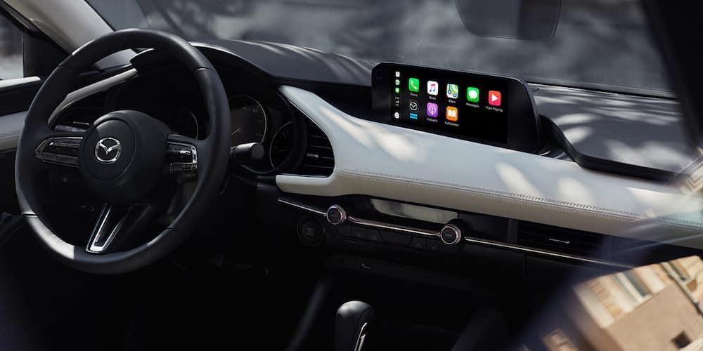 2020 Mazda3 Sedan Front Interior