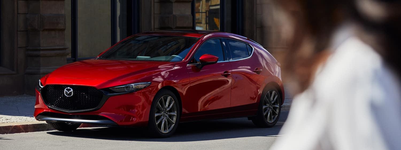 2020 Mazda3 in city