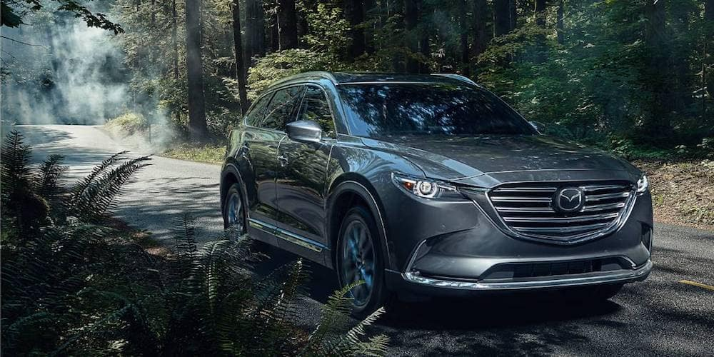 Silver 2020 MAZDA CX-9 in Woods