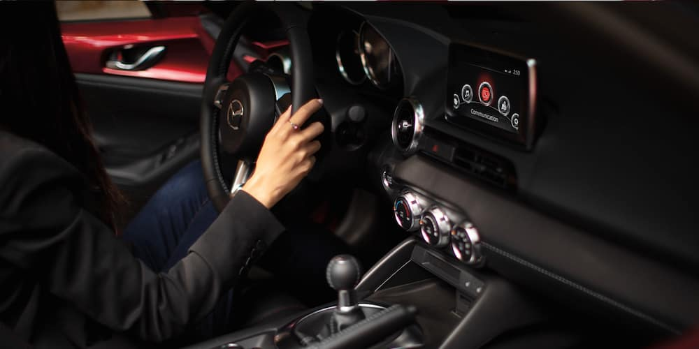 2020 Mazda Miata Front Interior