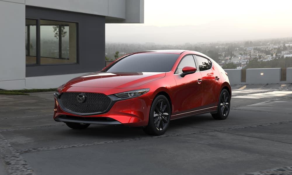 2020 Mazda3 Hatchback Parked