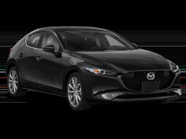 Black 2020 Mazda3 Hatchback