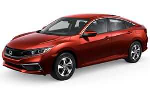 2019 Civic Sedan LX Lease