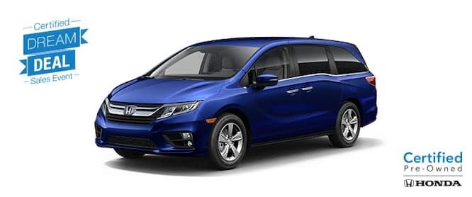 Dream Deal - Honda Certified Odyssey
