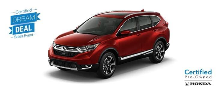 Dream Deal - Honda Certified CR-V