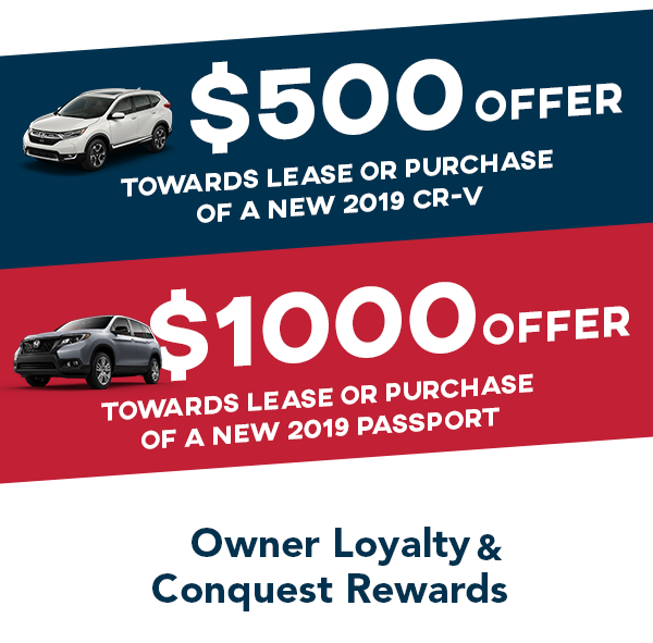 Owner Loyalty & Conquest Rewards