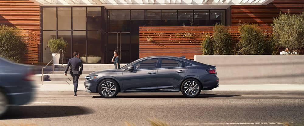 2020 Honda Insight Side View