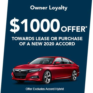 2020 Accord $1000 Offer