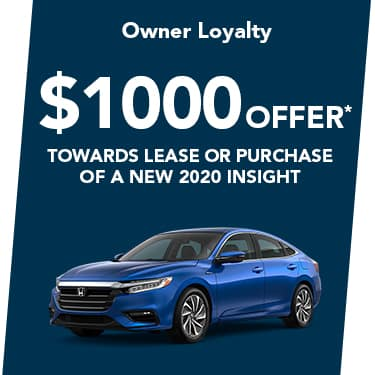 2020 Insight $1000 Offer