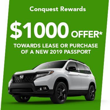2019 Passport $1000 Offer