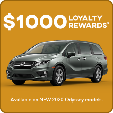 Odyssey Loyalty Offer