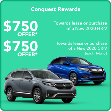 $750 Conquest Offers