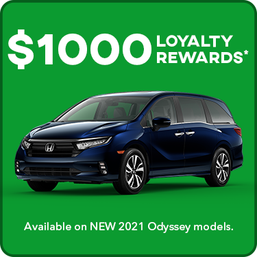 2021 Odyssey Loyalty Offer