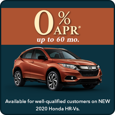 0% APR HR-V Offer