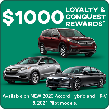 $1000 Loyalty & Conquest Offers