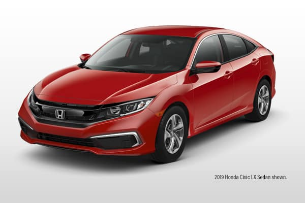 2019 Honda Civic LX CVT Sedan