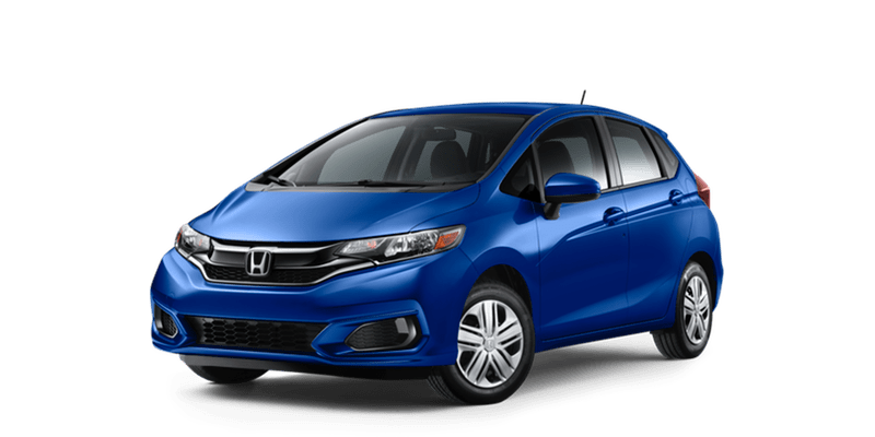 2019 Honda Fit LX white background