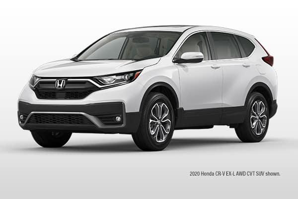 New 2020 Honda CR-V EX-L AWD CVT SUV