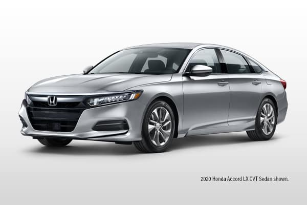 New 2020 Honda  Accord LX CVT Sedan