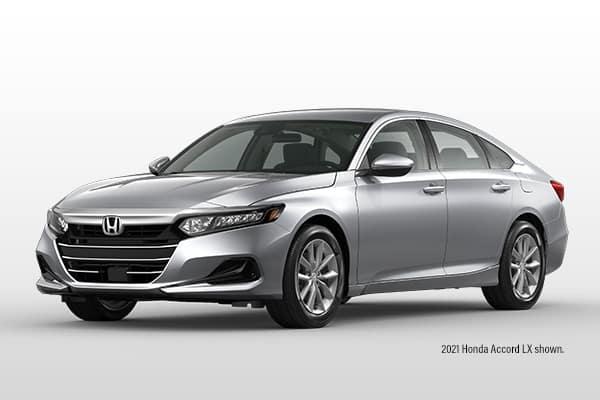 New 2021 Honda Accord Sedan LX CVT Sedan