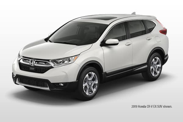 New 2019 Honda CR-V EX-L AWD CVT