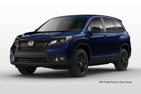 New 2019 Honda Passport Sport AWD SUV
