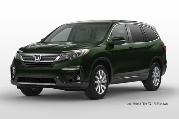 New 2019 Honda Pilot EX-L 2WD SUV