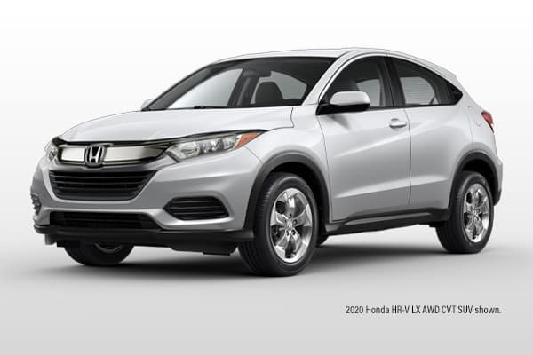 New 2020 Honda  HR-V LX AWD CVT SUV