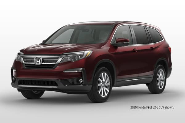 New 2020 Honda Pilot EX-L AWD SUV