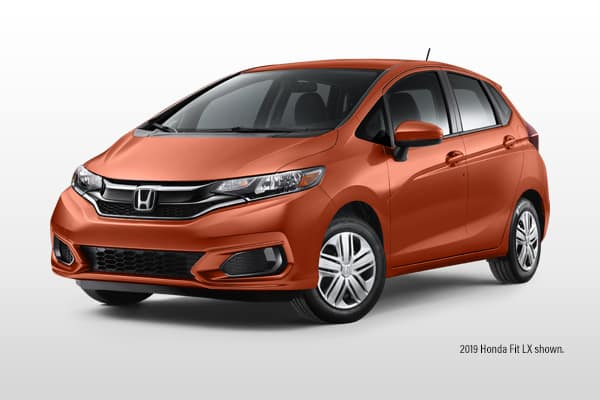 New 2020 Honda Fit LX CVT Hatchback